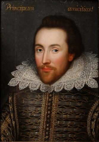 Shakespeare. The Cobbe portrait.